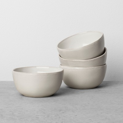 Stoneware Mini Bowl Set of 4 - Cream - Hearth & Hand™ with Magnolia