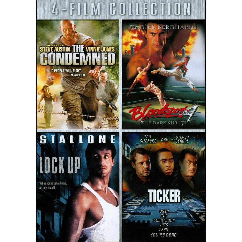 Condemned/Bloodsport 4/Lock Up/Ticker (Dvd)