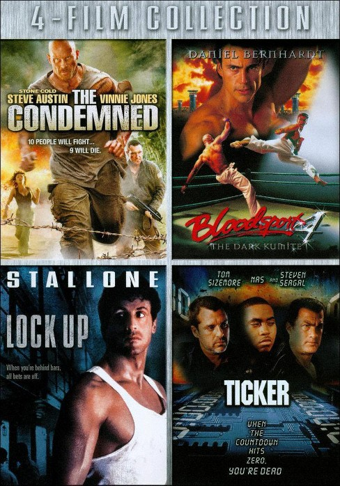 Condemned/Bloodsport 4/Lock up/Ticker (DVD) - image 1 of 1