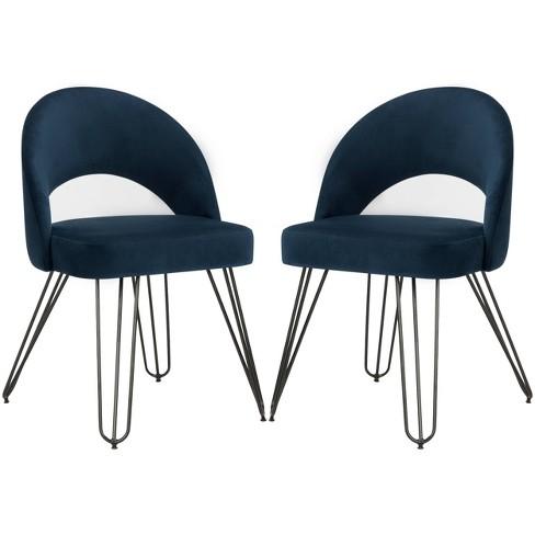 Set of 2 Jora Dining Chair - Safavieh - image 1 of 9