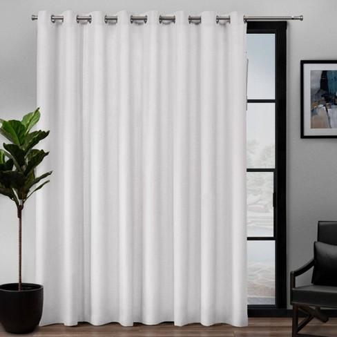 Loha Patio Grommet Top Single Curtain, Patio Panel Curtains