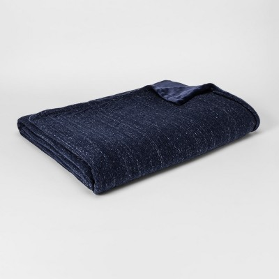 Jersey Plush Blanket (King)Navy - Project 62™