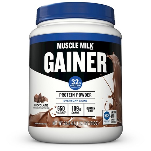 Muscle Milk Mass Gainer Protein Powder - Chocolate - 1.79lb : Target