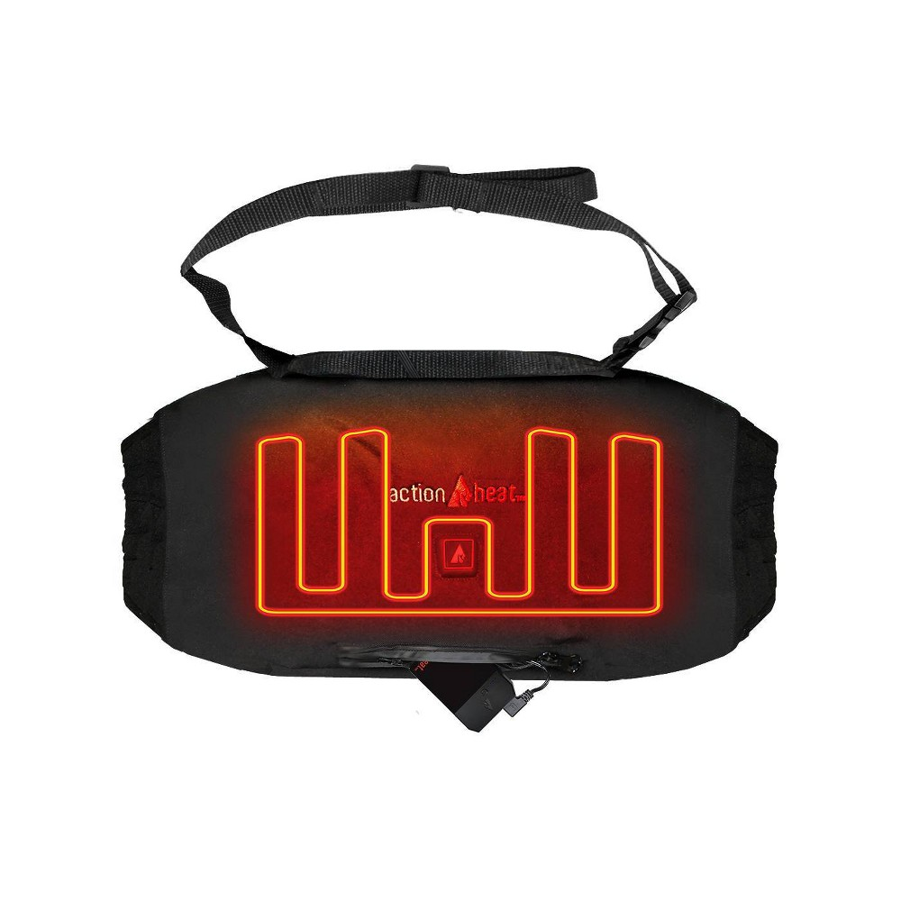 Image of ActionHeat 5V Battery Heated Hand Warmer Muffed - Black, Size: One size