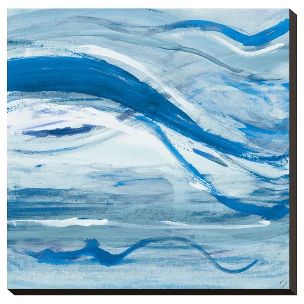 Blue Bossa Nova Ii By Lanie Loreth Stretched Canvas Print - Art.Com, Multicolored