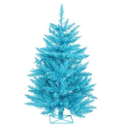 Vickerman Sky Blue Series Artificial Christmas Tree