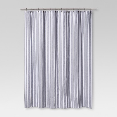 Dyed Shower Curtain Navy - Threshold™