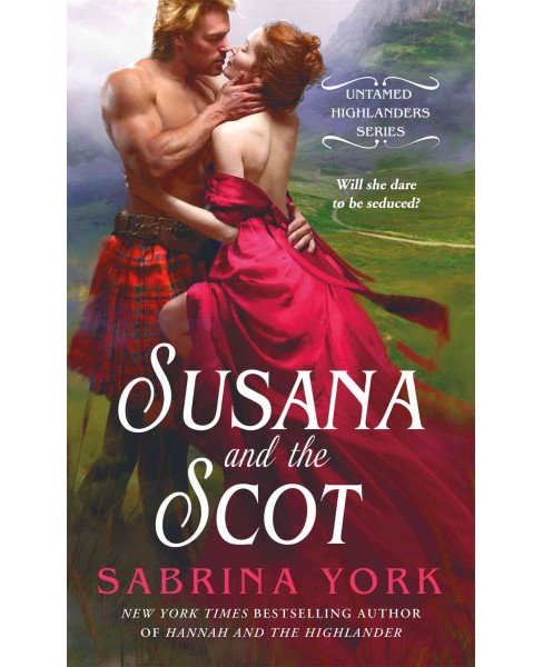Susana and the Scot (Paperback) (Sabrina York) - image 1 of 1