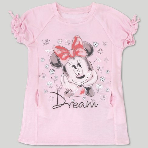 8366a9c7e15 Toddler Girls  Disney Mickey Mouse   Friends Minnie Mouse Short Sleeve T- Shirt   Leggings Set - Pink   Target