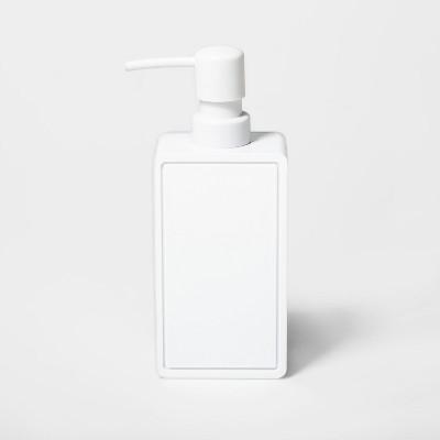 Rectangle Soap/lotion Dispenser White - Room Essentials™