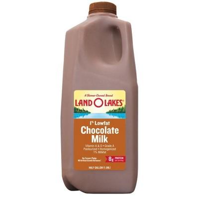 Land O Lakes 1% Chocolate Milk - 0.5gal