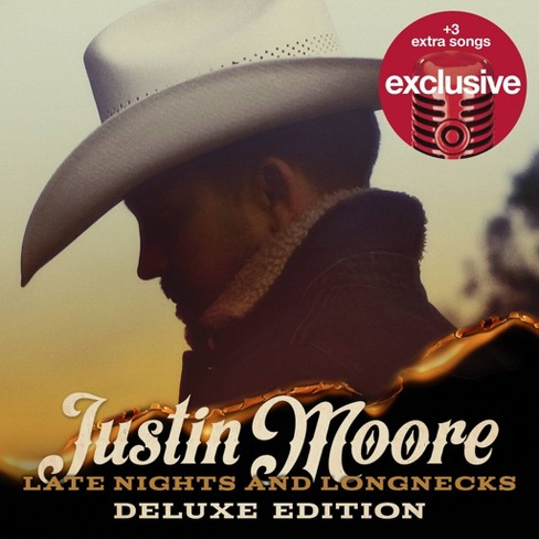 Justin Moore - Late Nights And Longnecks ( Target Exclusive , CD ) - image 1 of 1
