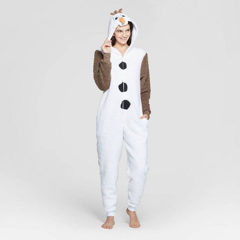 Women's Olaf Union Suit - White - image 1 of 2