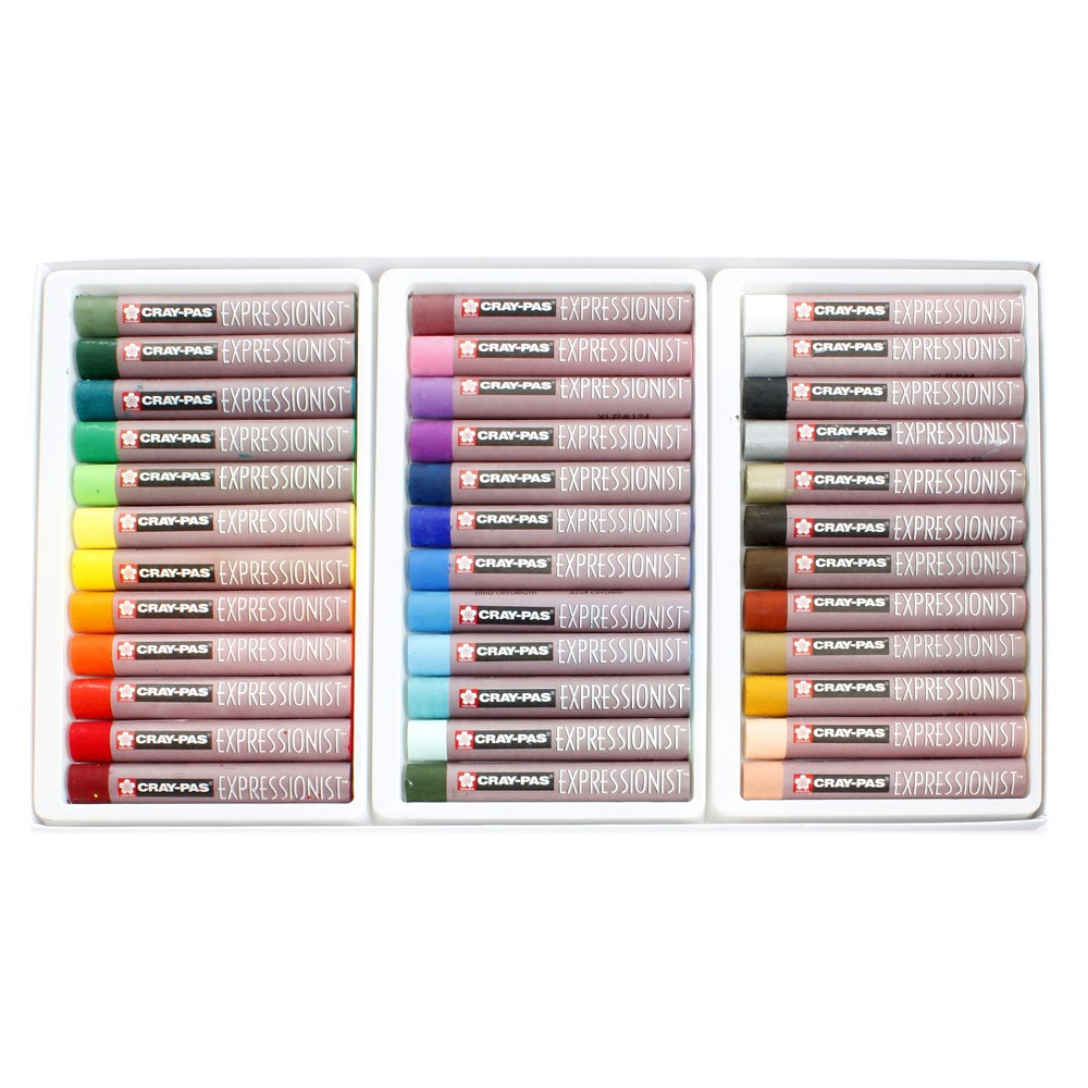 Image of Cray-Pas Oil Pastels Expressionist Set 36ct - Sakura