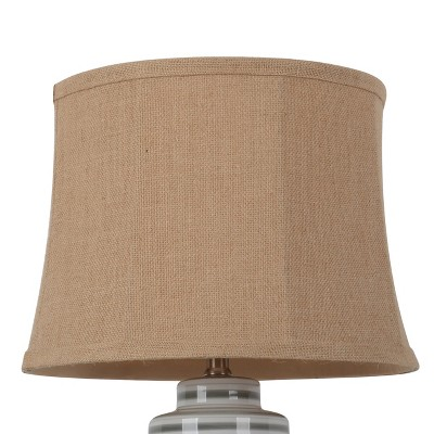 Replacement Soft Back Burlap Lampshade Light Brown - Threshold™
