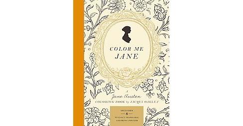 Color Me Jane A Jane Austen Coloring Book Paperback Jacqui