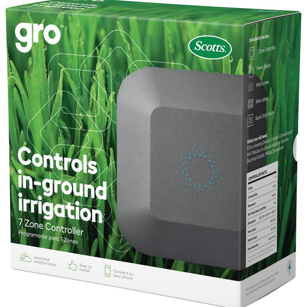 Image of Scotts Gro 7-Zone Smart Sprinkler