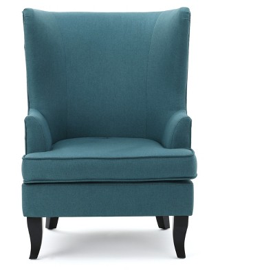 Bon Canterburry Upholsetered High Back Wing Chair   Christopher Knight Home