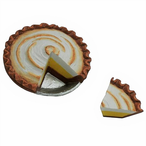 The Queen's Treasures® 18 Inch Doll Food Kitchen Accessories, Lemon Meringue Pie With Slice + Bakery Box - image 1 of 5