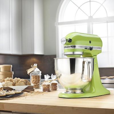 KitchenAid Artisan Series 5 Quart Tilt-Head Stand Mixer- Ksm150, Green Apple