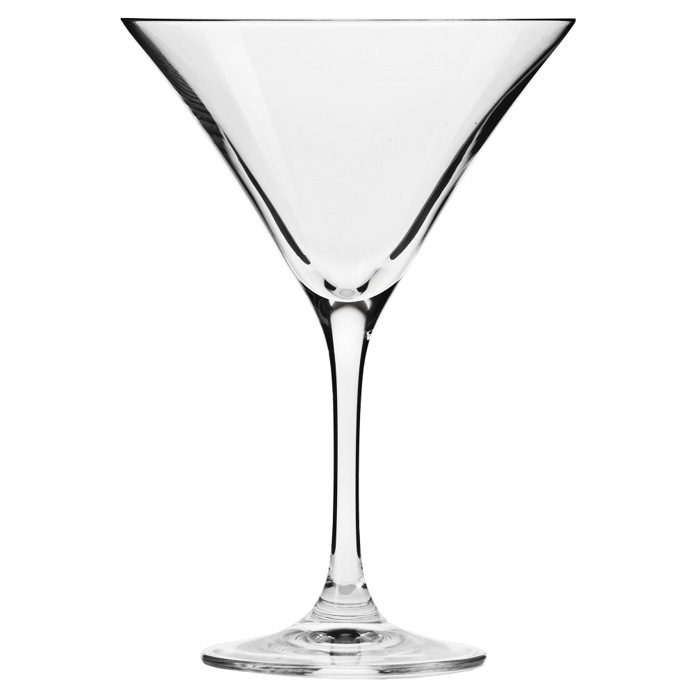Image of KROSNO Bond Handmade Martini Glasses 5oz - Set of 6, Clear
