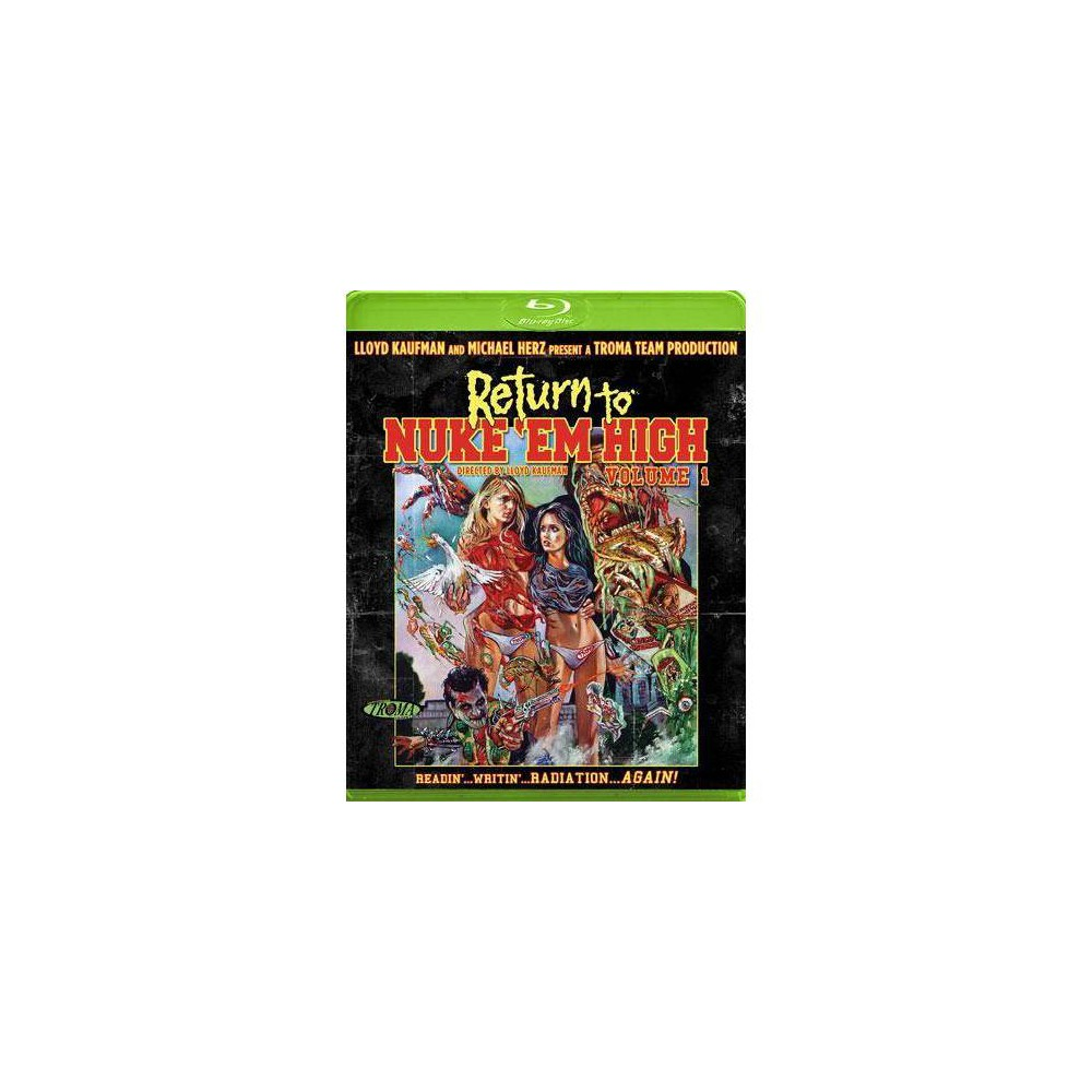 Return To Nuke Em High Volume 1 Blu Ray