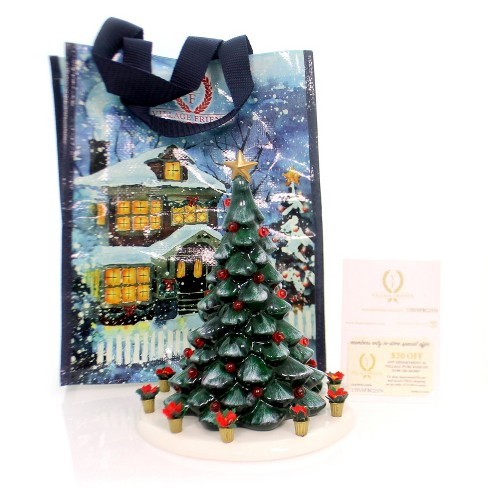 Department 56 Christmas Tree.Department 56 Villages Snow Village Town Tree Kit Christmas Holiday Yule