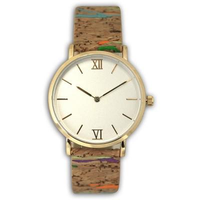 Olivia Pratt Cork Style Strap Watch