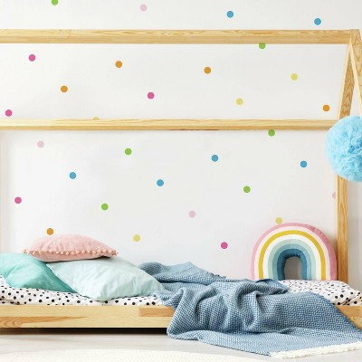 RoomMates Pastel Dot Peel and Stick Wall Decal