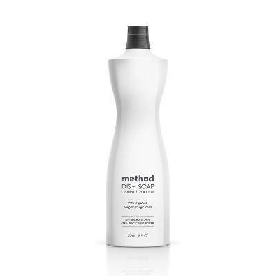 Method Liquid Dish Soap Citrus Grove - 18oz
