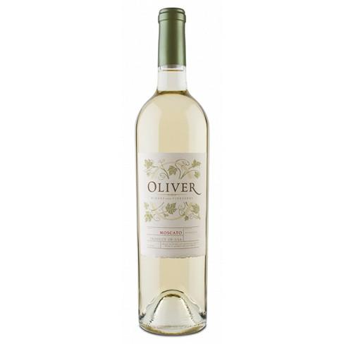 Oliver Moscato White Wine - 750ml Bottle - image 1 of 1