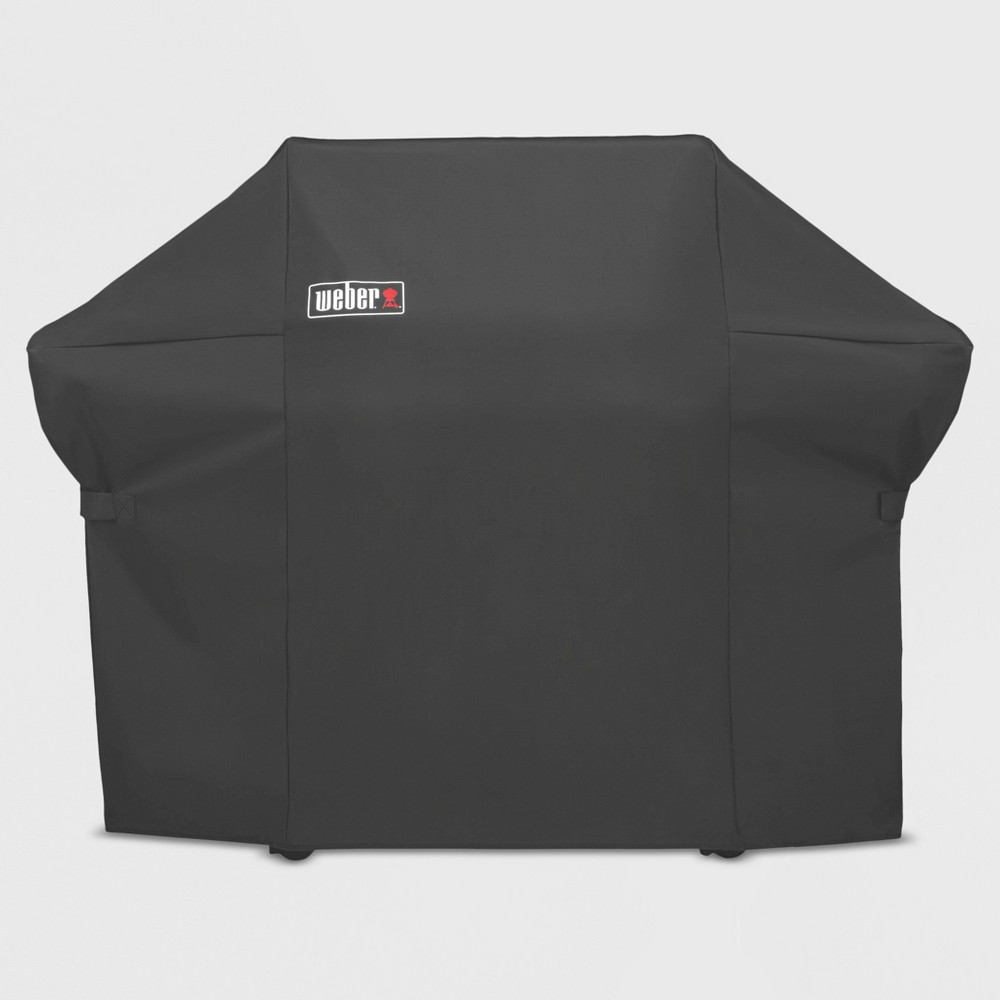Weber Summit 400 Series Grill Cover with Storage Bag, Black 16879853