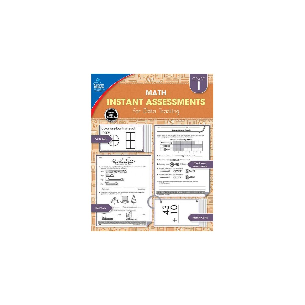 Instant Assessments for Data Tracking Math, Grade 1 (Paperback) (Jennifer B. Stith)