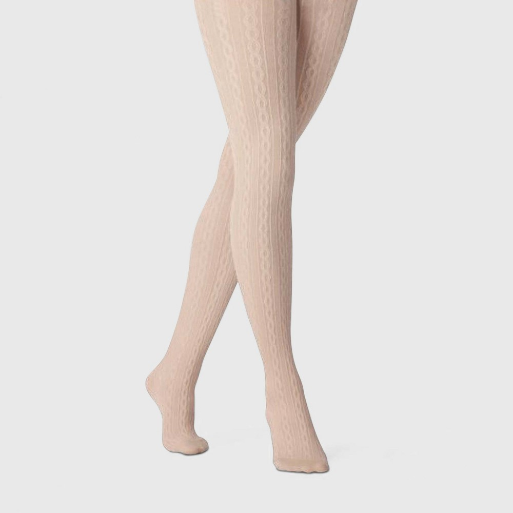 Cheap Women's Cable Sweater Tights - A New Day™