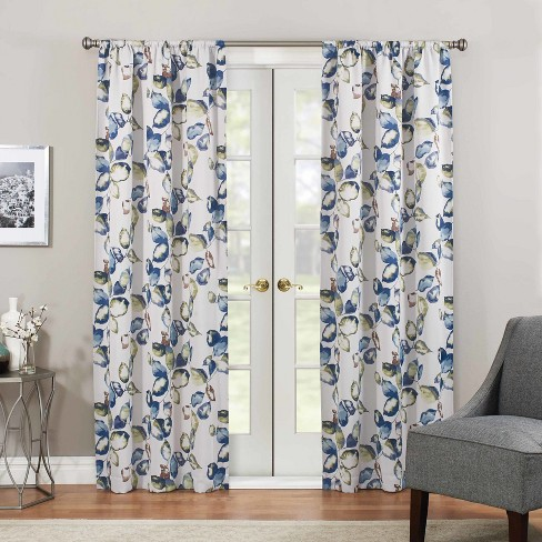 Floral Paige Thermaweave Blackout Curtain Panel - Eclipse™ - image 1 of 2