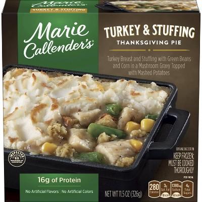 Marie Callender's Turkey & Stuffing Thanksgiving Pie - 11.5oz