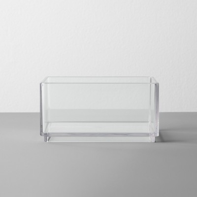 Plastic Organizer Tray 4 W X 4 D X 2 H Clear - Made By Design™