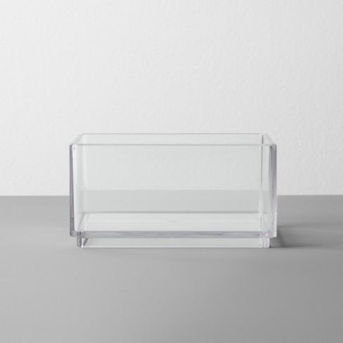 Plastic Organizer Tray Clear - Made By Design™ - image 1 of 3