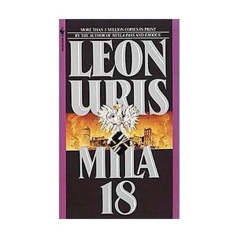 Mila 18 - by  Leon Uris (Paperback) - image 1 of 1