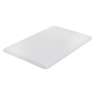 LA Baby 2  Mini Portable Crib Mattress Pad - White