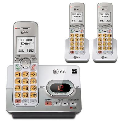 AT&T El52303 Cordles Phone And Answering Machine W/CW, Peral
