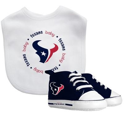 Houston Texans Bib & Prewalker Gift Set