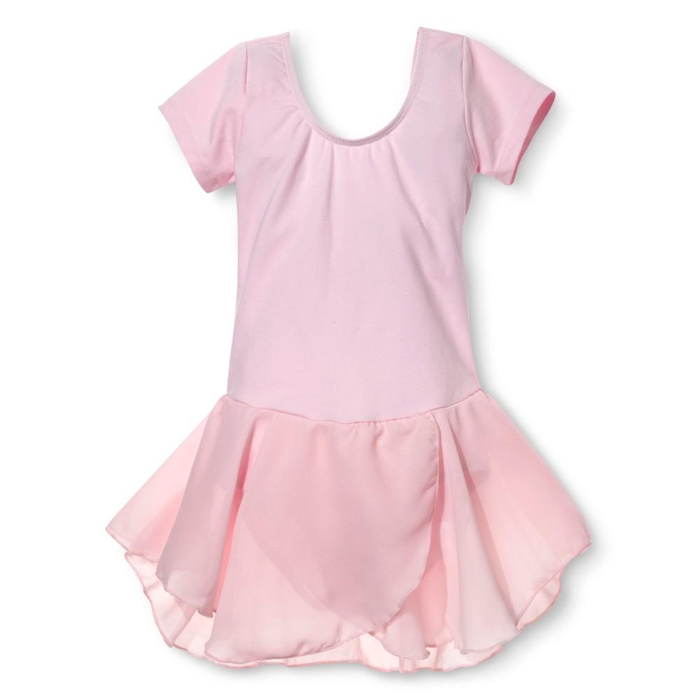 Danz N Motion by Danshuz Girls' Activewear Dress - Pink 2-4