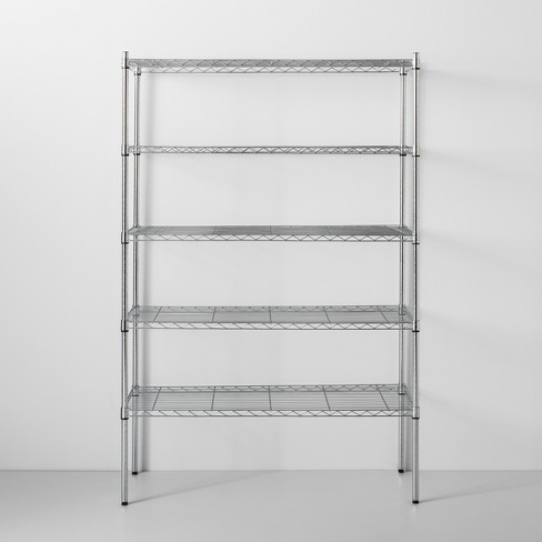 5 Tier Wide Wire Shelf - Made By Design™ - image 1 of 4