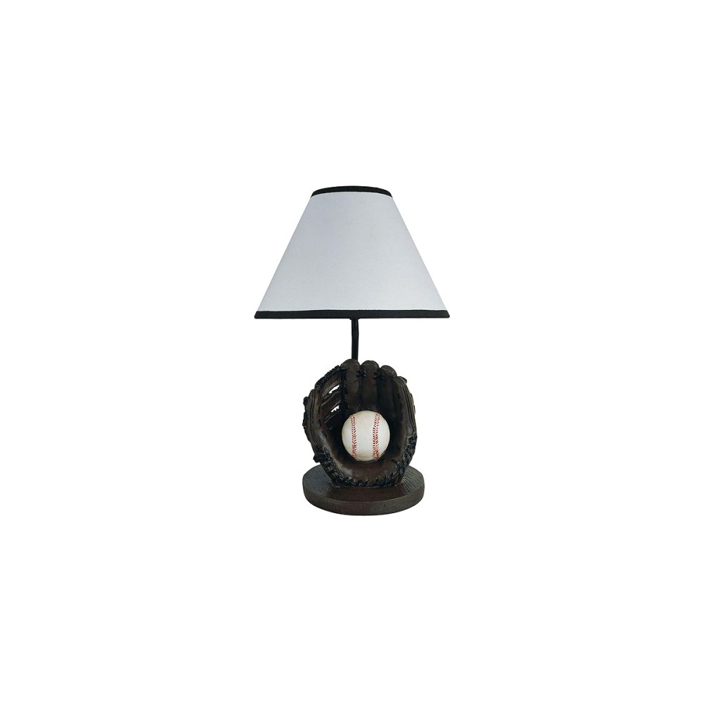 Image of Baseball Accent Lamp, Multi-Colored