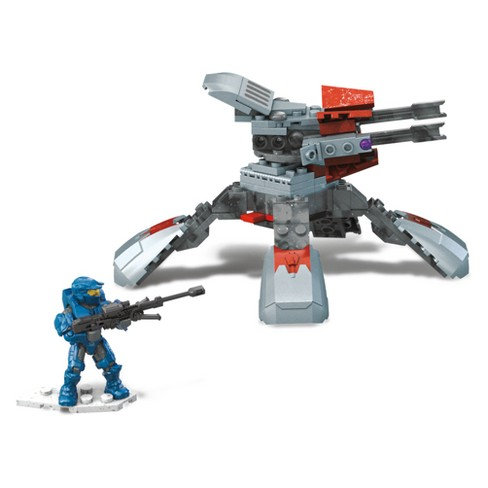 Mega Construx Halo Banished Turret Takedown Building Set