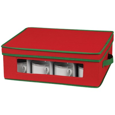 Household Essentials Holiday Cup Storage