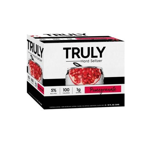 Truly Hard Seltzer Pomegranate - 6pk/12 fl oz Cans - image 1 of 4