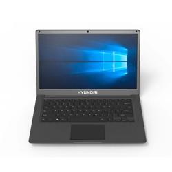"""Hyundai Thinnote-A - 14.1"""" Laptop Intel Celeron, 4GB / 64GB + HDD Slot, Windows 10 Home - Grey"""