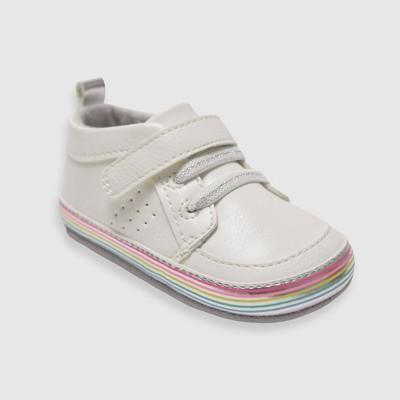 Baby Girls' Ro+Me by Robeez Natalie Sneakers - Tan 6-12M